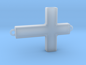 Horizontal Cross in Smooth Fine Detail Plastic