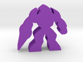 Game Piece, Alien Shocktrooper in Purple Strong & Flexible Polished