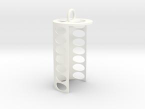 Pringles Chip Slider in White Processed Versatile Plastic