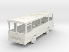 Magirus R81 Bus in White Natural Versatile Plastic