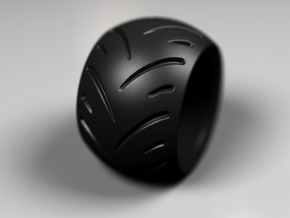 Max Power - Ring - 22.5 mm inside diameter. in Matte Black Steel