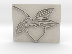 Heart1a in Natural Sandstone