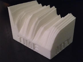 2014 Edition -- U.S. Treasury Yield Curve in White Natural Versatile Plastic