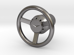 Shooter Rod Knob - v3 Cadillac Steering Wheel in Polished Nickel Steel