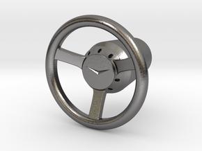 Shooter Rod Knob - v3 Cadillac Steering Wheel in Polished Nickel Steel