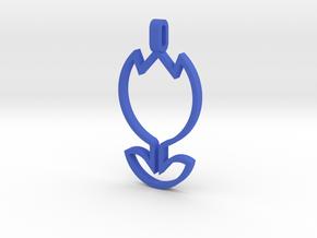 Tulip Pendant in Blue Processed Versatile Plastic