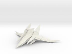 Arwing 2x  in White Natural Versatile Plastic
