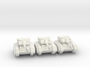 [5] Airborne Tank Platoon in White Natural Versatile Plastic