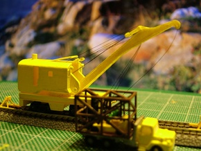 Brownhoist MOW Crane - Zscale in Frosted Ultra Detail