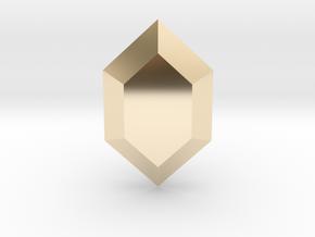 Zelda Rupee in 14K Yellow Gold