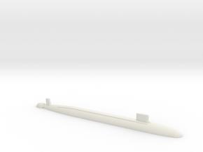 Virginia SSN, 1/2400 in White Natural Versatile Plastic