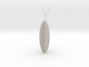Ethnic earrings in Natural Sandstone