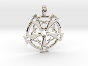 MAGICK SOULS in Rhodium Plated Brass