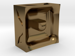 Reality in Polished Bronze