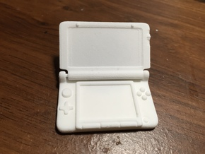 Mini Nintendo 3dsXL: 1/4 Scale in White Natural Versatile Plastic