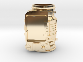 Pip-boy 3000 (WEARABLE MODEL SOON) in 14k Gold Plated Brass