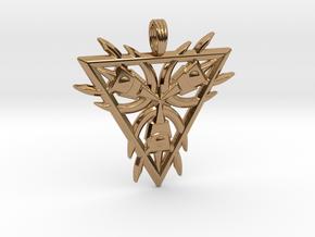 SUNSTAR MAGNET in Polished Brass