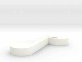 musical note in White Processed Versatile Plastic