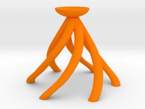 Popcorn Butter Funnel in Orange Processed Versatile Plastic