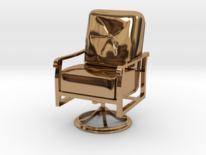 Mini Chair in Polished Brass