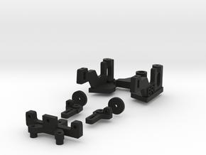 Puente delantero WRS para F de Black Arrow in Black Natural Versatile Plastic
