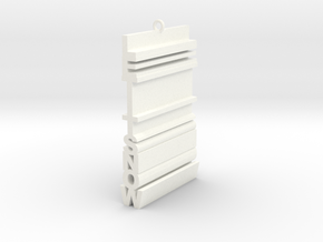 Let It Snow (Extruded) in White Processed Versatile Plastic