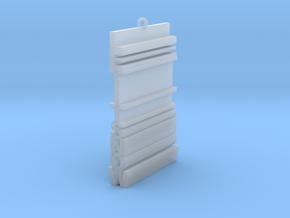 Let It Snow (Extruded) in Smooth Fine Detail Plastic