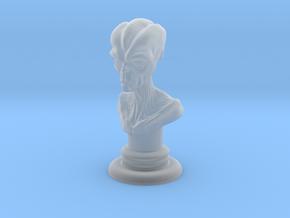 Alien-01 in Smooth Fine Detail Plastic