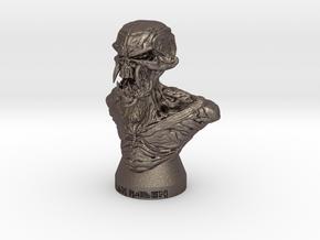 Iron Maiden Kranium in Polished Bronzed Silver Steel