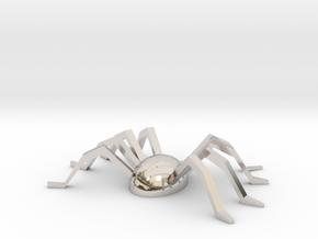 Spider Souvenir in Platinum