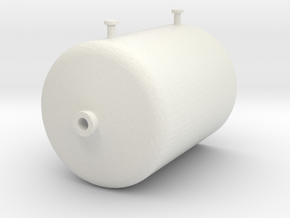 'N Scale' - 12' Diameter Tank - 14' High in White Natural Versatile Plastic