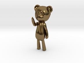 Among the Sleep Teddy Bear in Polished Bronze