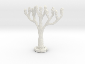 NNA01 Tree in White Natural Versatile Plastic
