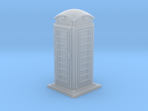 35mm/O Gauge Phone Box in Smooth Fine Detail Plastic