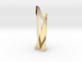1:48 Harp in 14k Gold Plated Brass