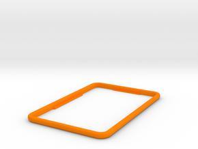 Replacement bezel for Fridge Optimizer in Orange Processed Versatile Plastic