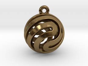 Ball-small-14-2 in Polished Bronze