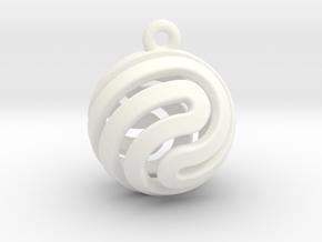 Ball-small-14-2 in White Processed Versatile Plastic