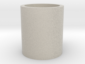 Monopoly Mug Custom Peice in Natural Sandstone