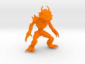 Llugat Soldier in Orange Processed Versatile Plastic