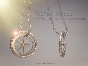 Pocket highway wheel set in Polished Silver