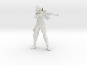 Gunslinger For RebelForce76 in White Natural Versatile Plastic