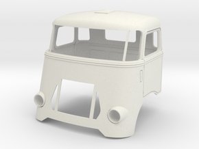 DAF-1to12 in White Natural Versatile Plastic