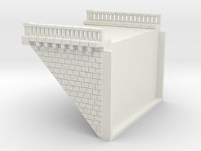 NV2M9 Modular viaduct 2 tracks in White Natural Versatile Plastic