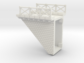 NV3M9 Small modular viaduct 1 track in White Strong & Flexible