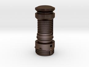 Lightsaber Brush For 24mm in Polished Bronze Steel