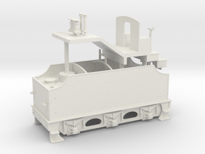 Fowler Tender - Body - Freelance Variant in White Natural Versatile Plastic