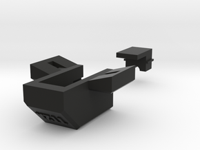 SensorHousingV3 in Black Natural Versatile Plastic