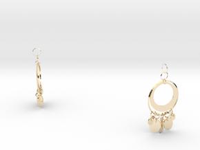 Aisha Earings in 14K Yellow Gold