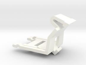 M.A.S.K. Bike Clip for Firecracker in White Processed Versatile Plastic